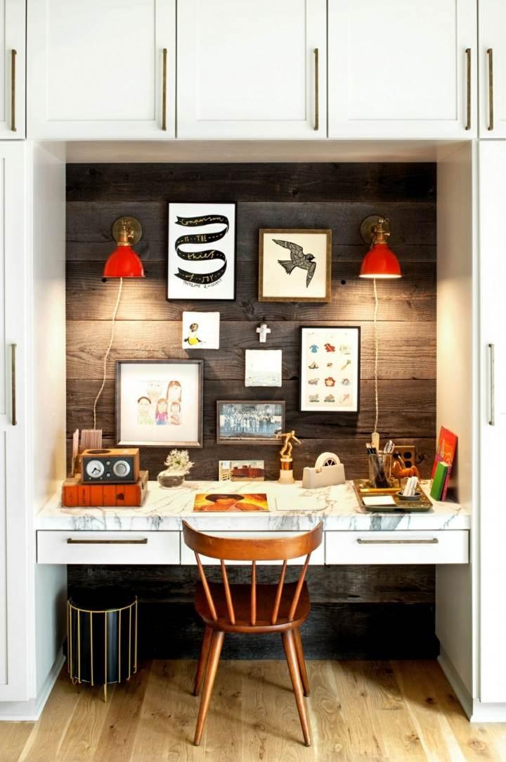 paredes madera colores estantes elementos