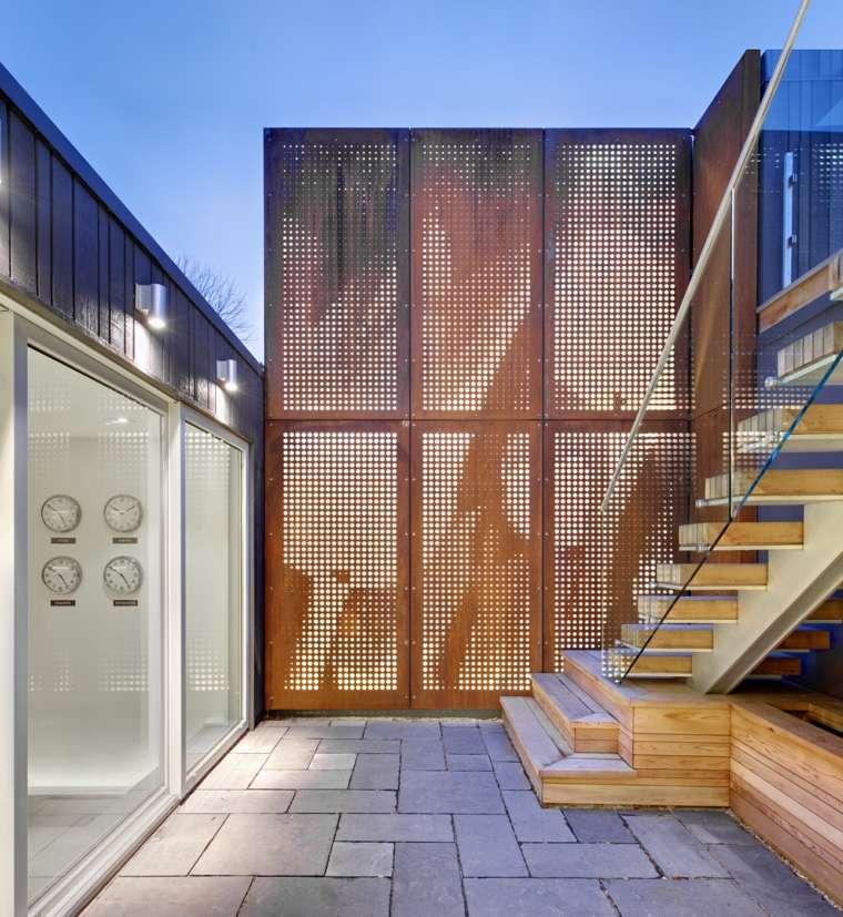 patio pequeño estilo minimalista moderno