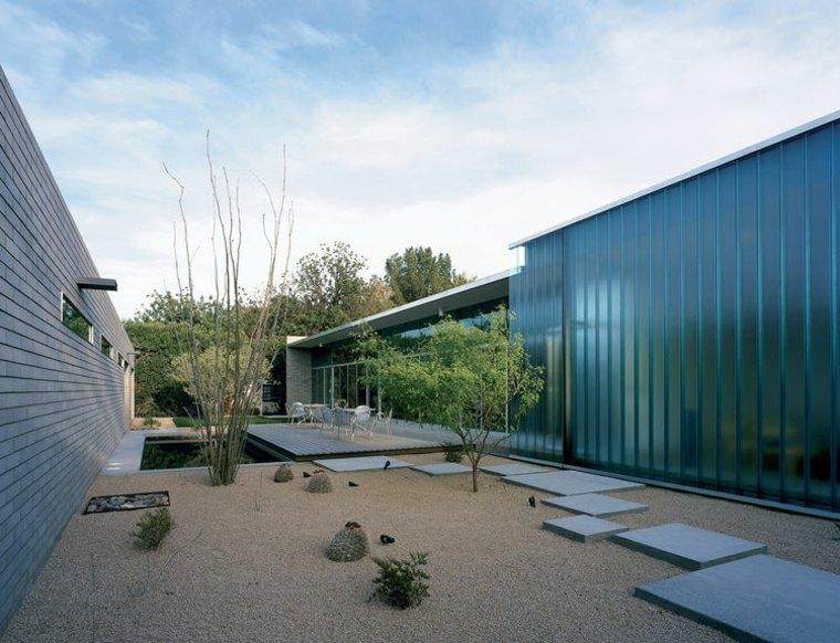 original diseñop minimalista jardín
