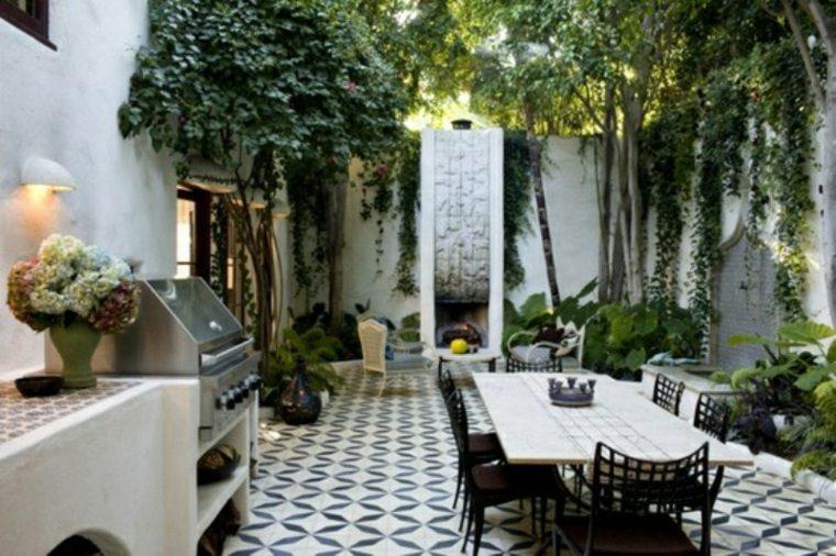 patio terraza muebles comedor