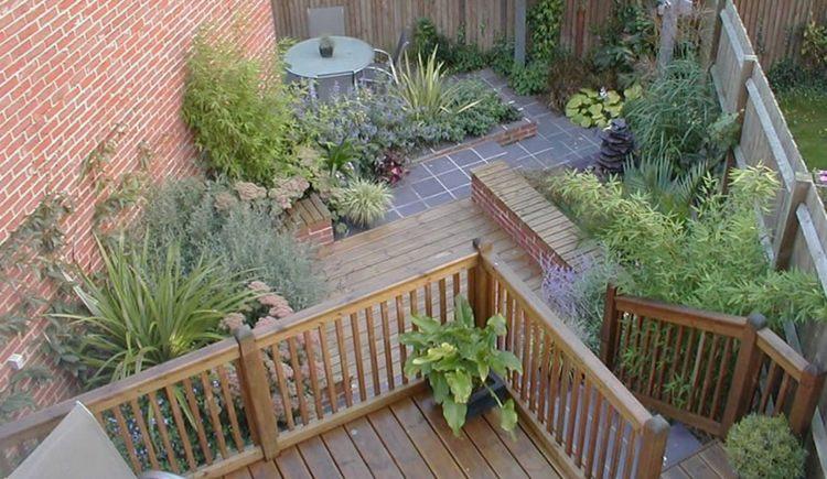 patio jardin originales terrazas