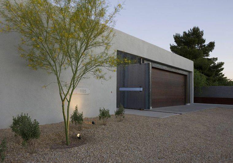 Dise o de patios y jardines peque os 75 ideas interesantes for Patios minimalistas modernos