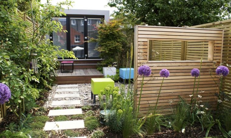 patios pequeños decoracion moderna