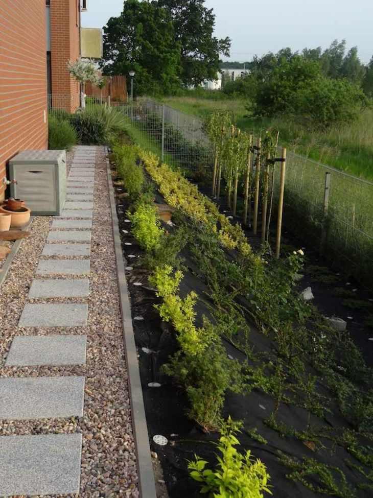 pendientes paisajismo preparacion suelos grava