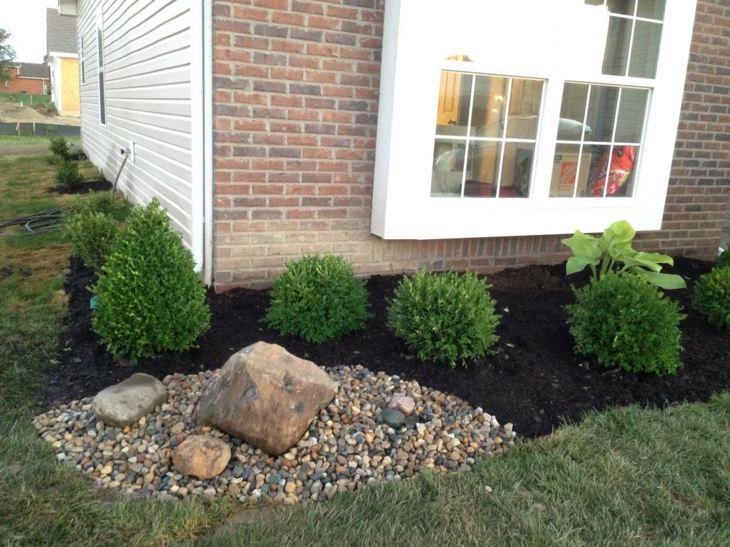 piedras para jardin colocacion mantillo segmento