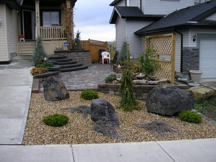 Piedras para jardin creando ambientes naturales for Figuras para jardin