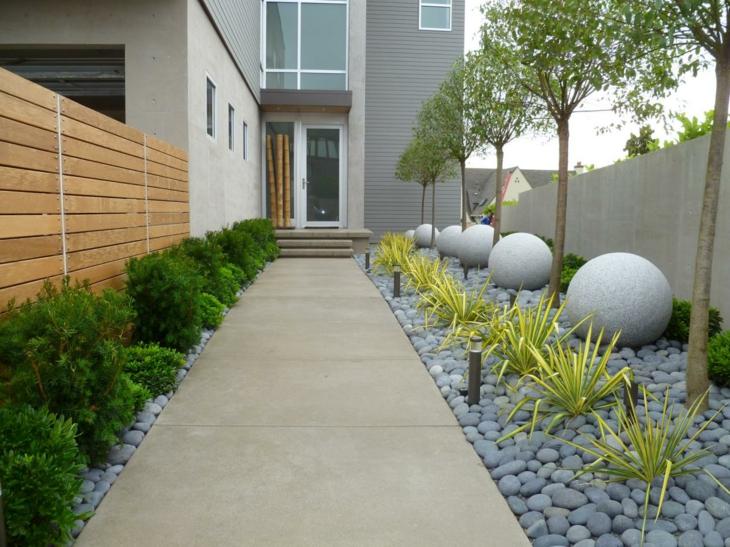 Piedras para jardin creando ambientes naturales - Disenos de jardines con piedras blancas ...