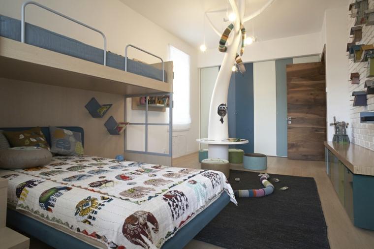 pintar paredes habitacion nino color azul ideas