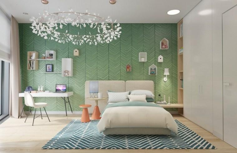 pintar paredes habitacion nino estantes ideas