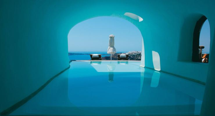 piscina cueva original diseño