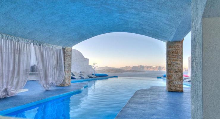 piscina cubierta original diseño