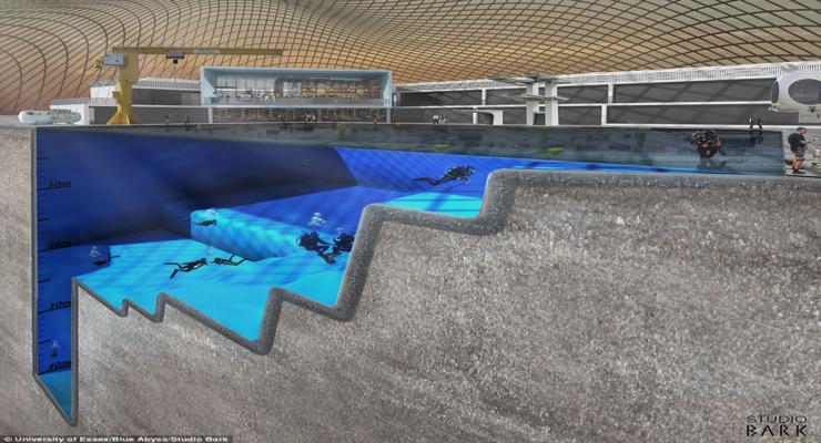 piscina buceo profesional deporte