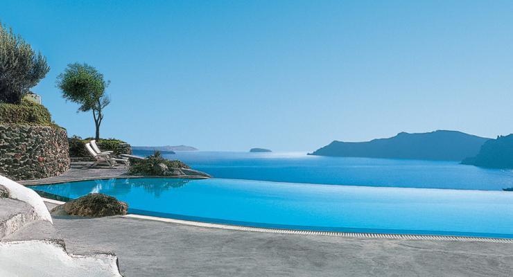 piscina infinita bonitas vistas