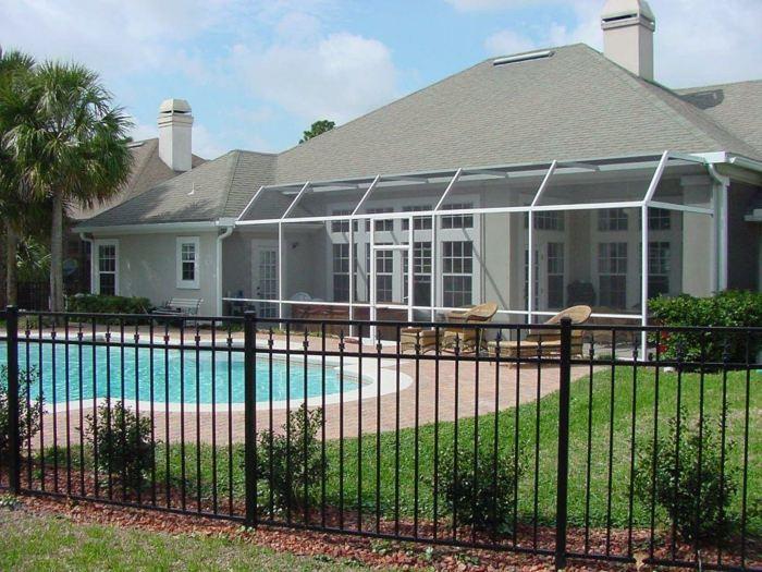 piscinas casas estados muebles cristales