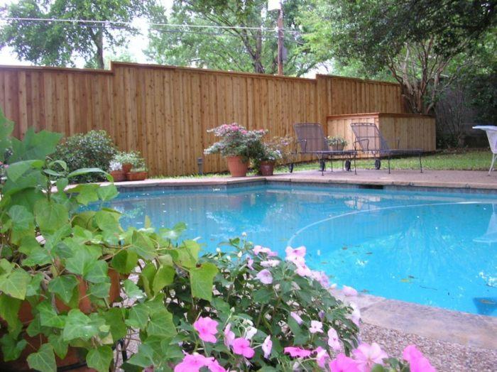 piscinas conceptos paredes muestras muros