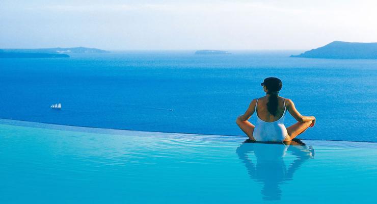 estupenda piscina vistas mar
