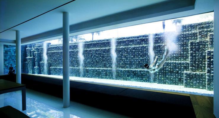 piscinas diseño moderno vidrio