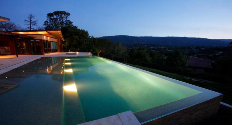 piscinas terraza vistas diseño