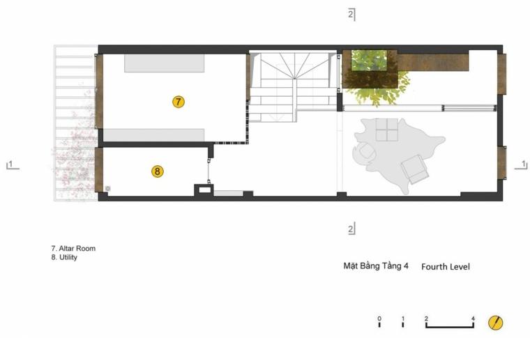 plano apartamento pequeno moderno jardin pequeno ideas