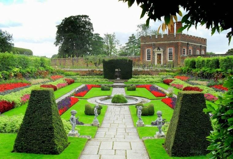 plano de jardin cl sico 50 mansiones con jardines