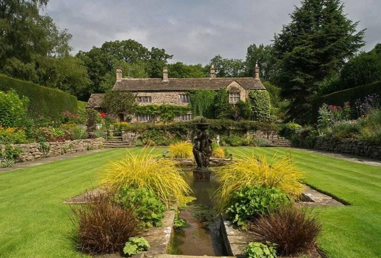 plano jardin clasico paisajes espectaculares ideas