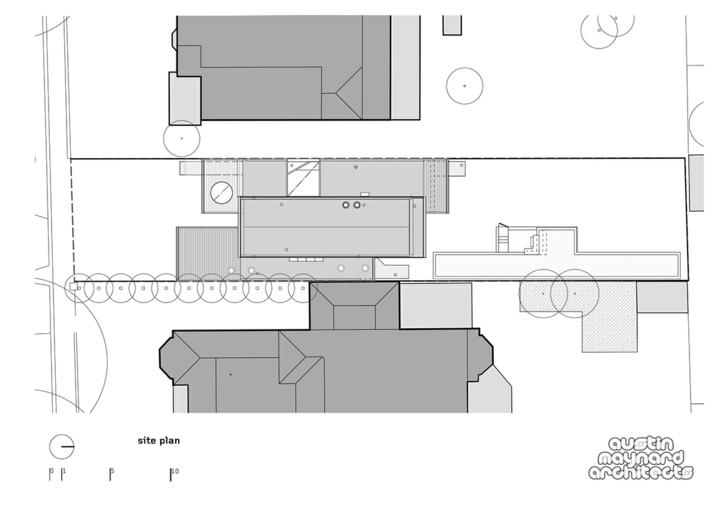 planos distribucion casa moderna colores