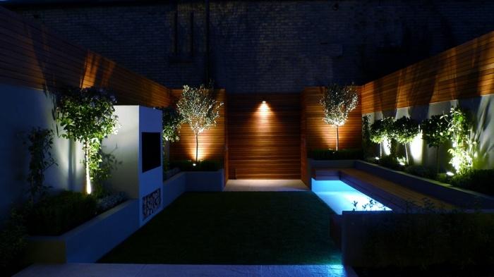 Jardines luminarias creativas y c mo sacarles el m ximo for Jardineras iluminadas