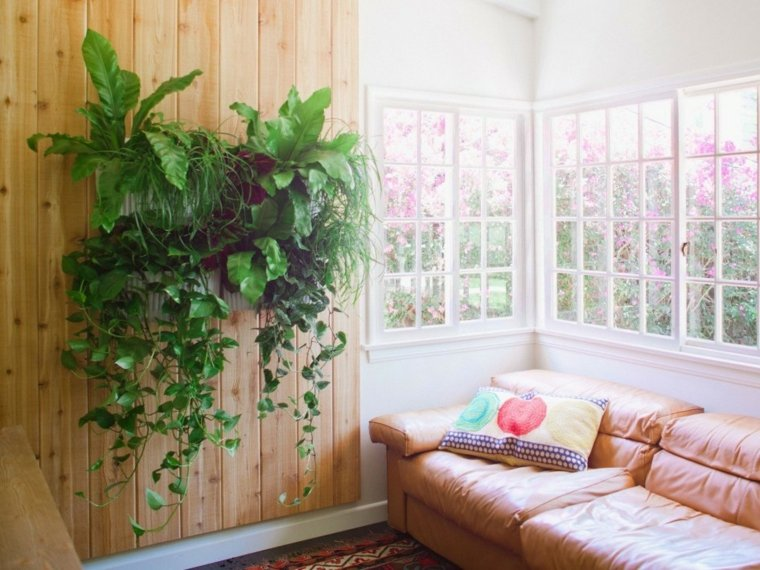 Cultivo hidroponico moderno y dise os de jardines verticales - Macetas para pared ...
