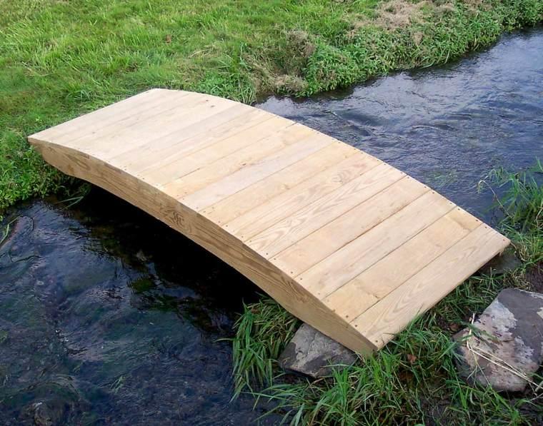 plataformas madera natural rio