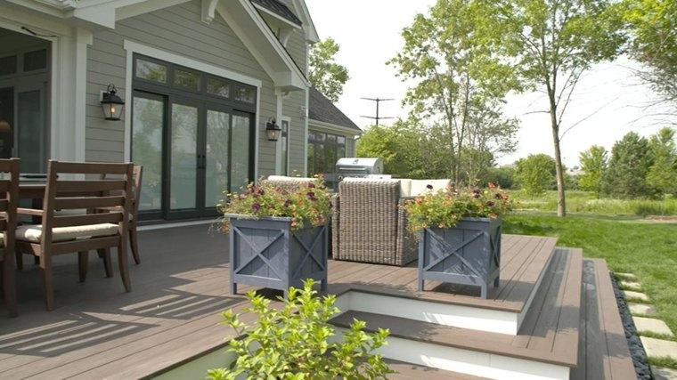 porche terraza original decoración