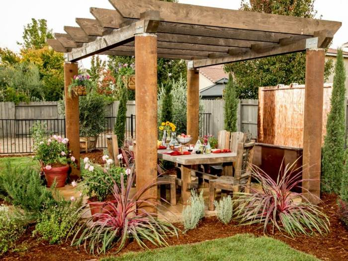 primavera jardines color ideas madera