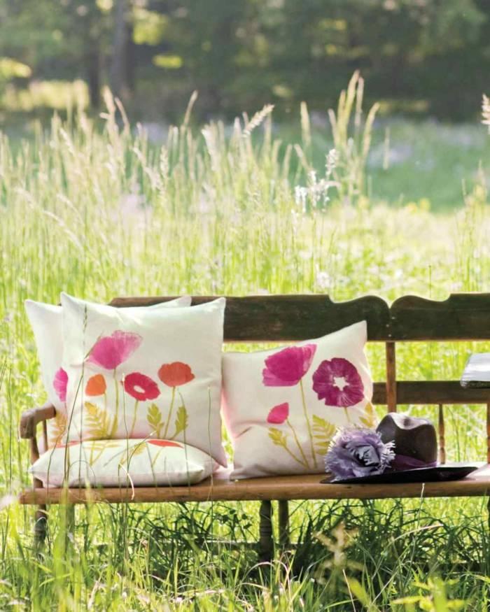 primavera jardines conceptos banca ideas