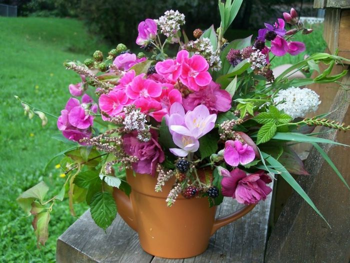 primavera jardines conceptos madera rosa