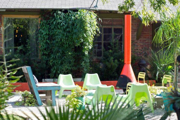 primavera jardines elegantes espacios salas