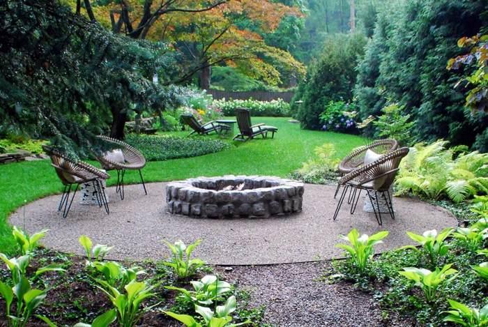 primavera jardines mobiliario pozo