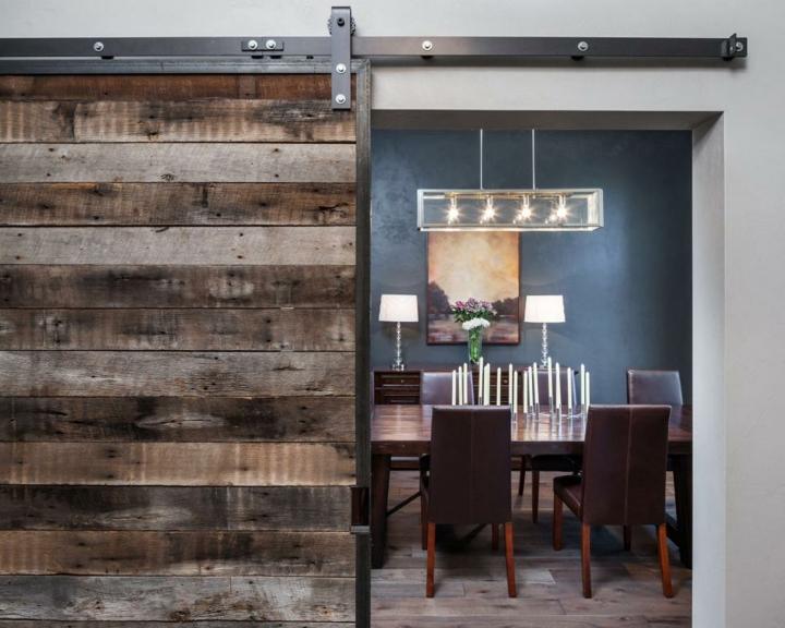 puertas correderas diseño tipo granero, más de 70 ideas increíbles -