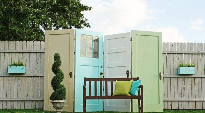 puertas recortar colores muebles salidas
