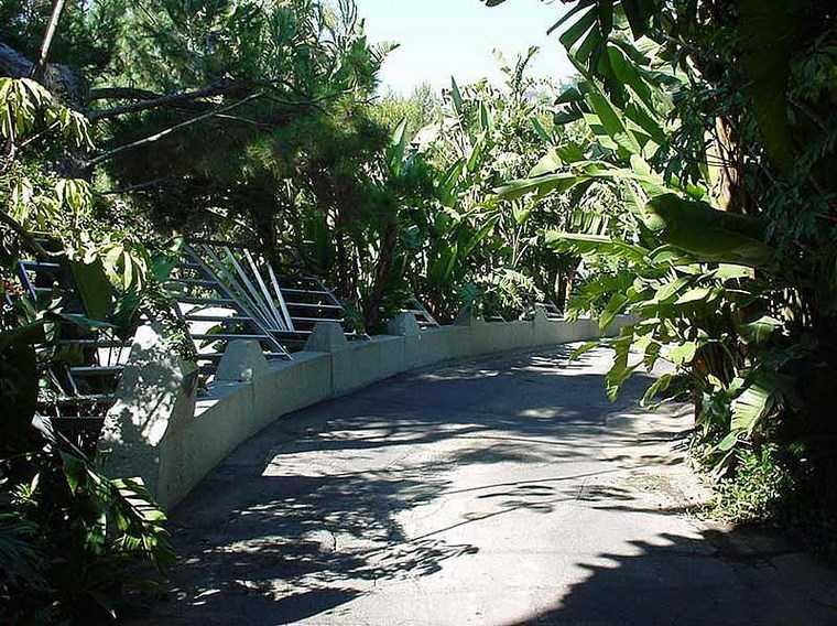 residencia colina entrada camino ideas