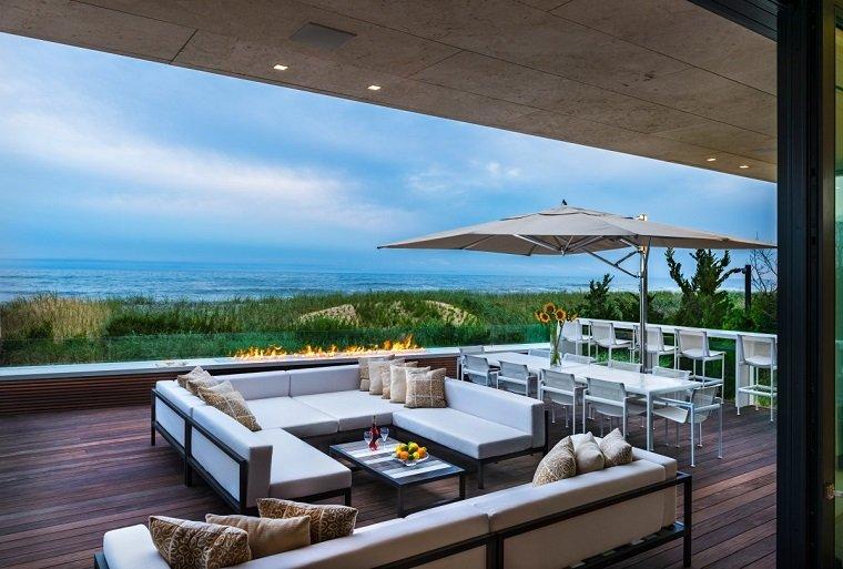 residencia moderna terraza diseno original ideas