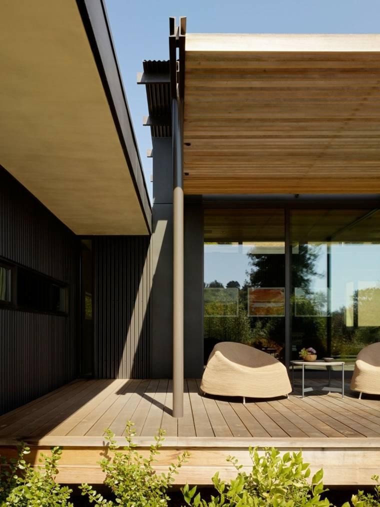 Muebles el paraiso moderno en la terraza o el balc n for Muebles terraza diseno