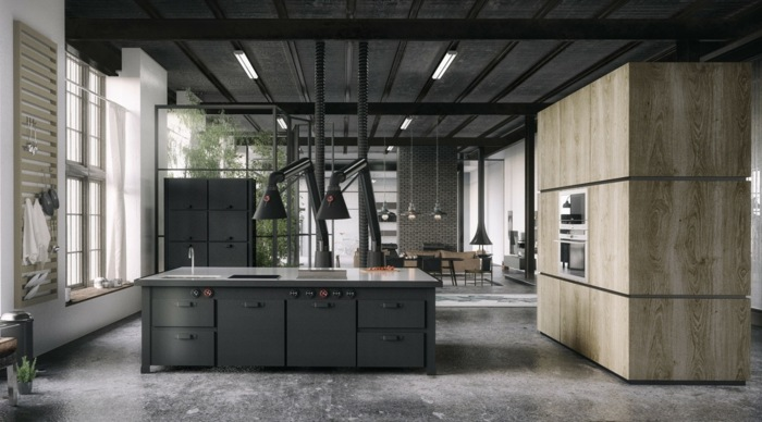 reto salones modernos paneles maderas