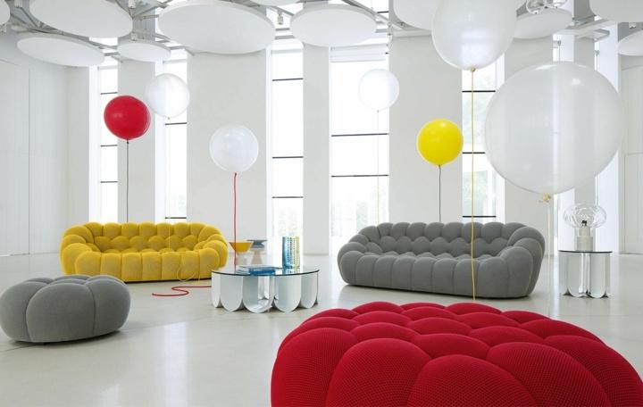 rojos sabores detalles grises globos