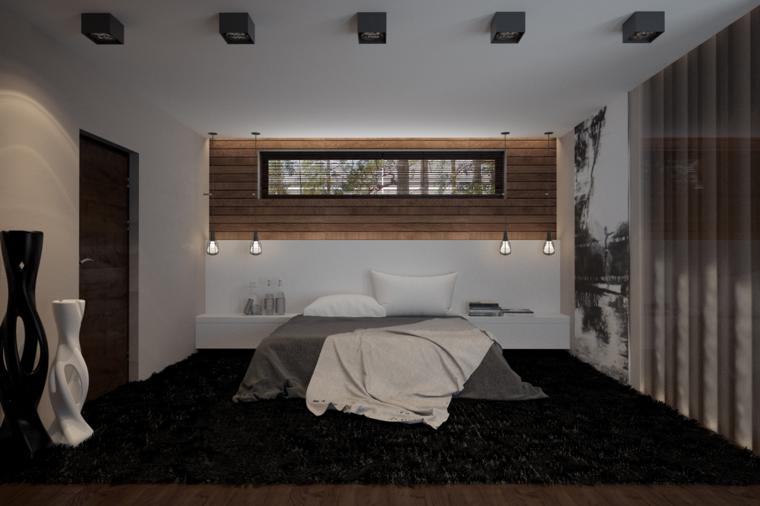 Dormitorios juveniles originales estilos para cada - Alfombra para habitacion ...
