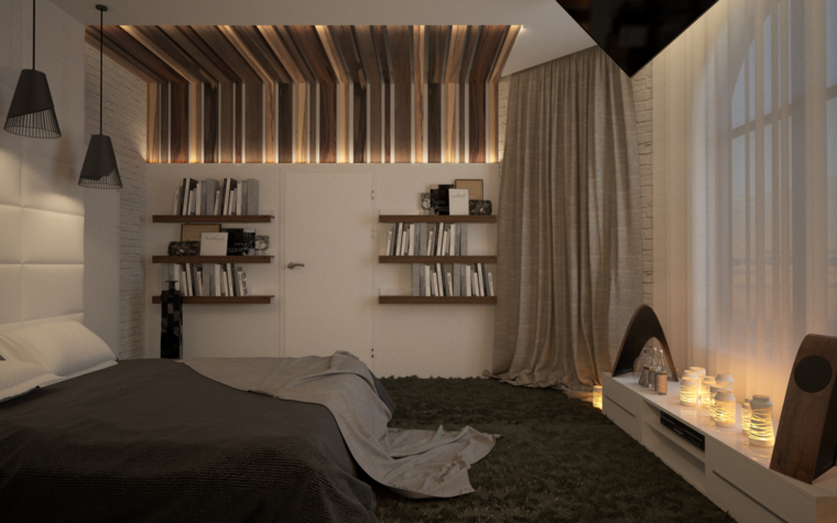 room design cuarto estilo moderno