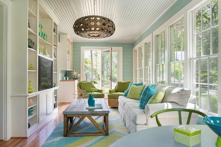 sala slarium decoraciópn colores moderna