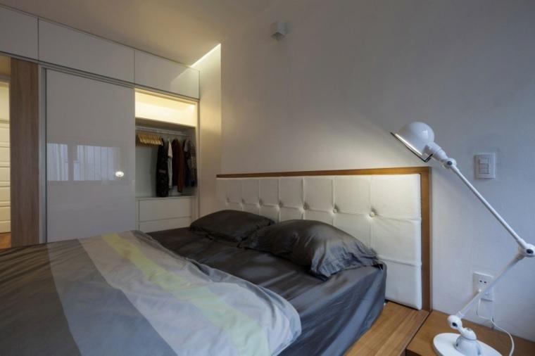 segundo piso apartamento dormitorio paredes blancas ideas