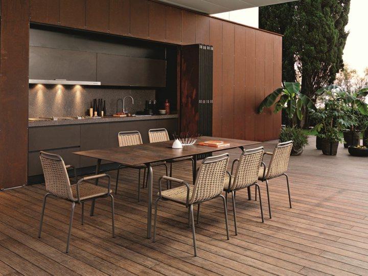 Jardines mobiliario para sacar el m ximo a todo el exterior - Comedores exteriores para terrazas ...