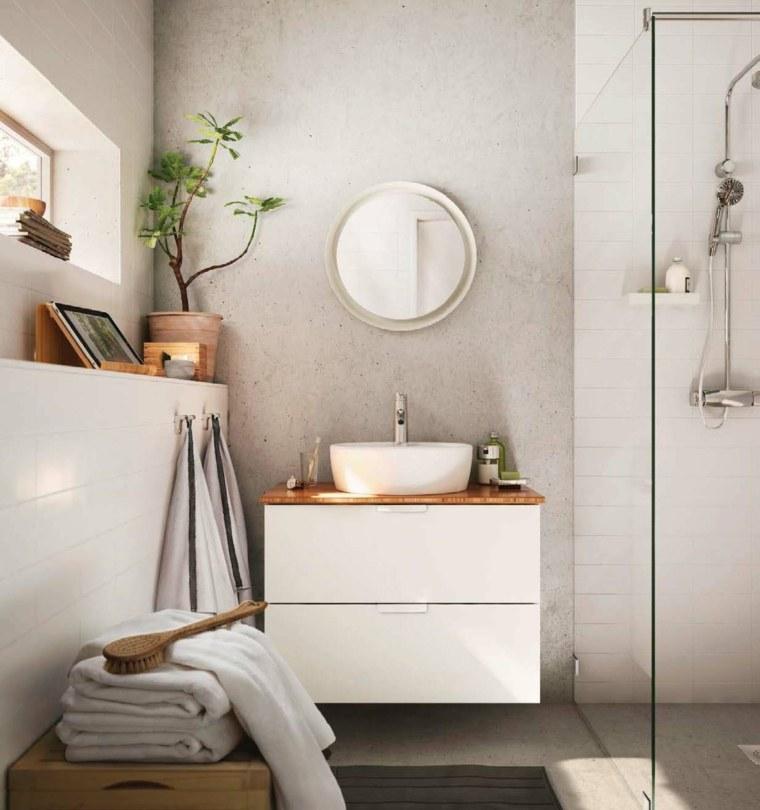 simples estrecho bano lavabo pequeno ideas