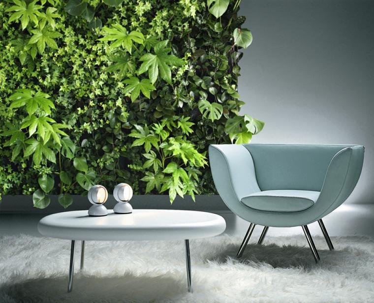 decoración interiores jardines verticales