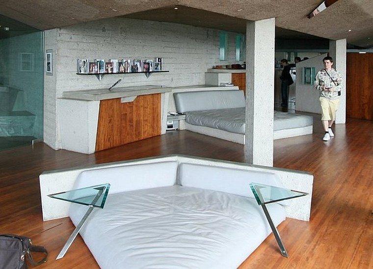 sofa forma triangulo mesitas dormitorio ideas